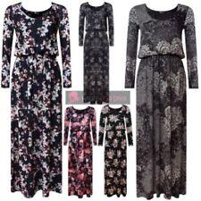 Plus Size Viscose Floral Dresses for Women