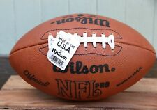 Nwt Official Wilson Nfl Pro Leather On Field Football Vintage Made in Usa