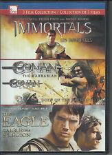 Immortals/ Conan The Barbarian/ The Eagle -- Triple Feature! ( 3 DVD Set )