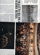 SP61 Clipping-Ritaglio 1986 Vladimir Horowitz Il folletto ha incantato la russia
