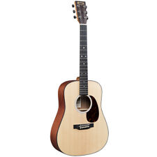 Martin DJr-10E Left-Handed 3/4 Acoustic-Electric Guitar w/ Gigbag, New!
