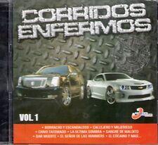El Komander Calibre 50 Dareyes de la Sierra Corridos Enfermos CD No Plastic Seal