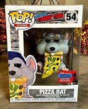 Funko Pop! Icons Pizza Rat #54 Nycc Exclusive