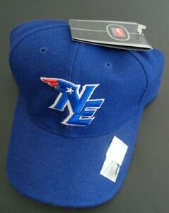 NEW ENGLAND PATRIOTS Football NIKE Vintage Size 7 1/4 Hat NFL Cap FREE SHIP Blue