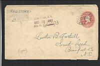 NEW YORK NEW YORK COVER,REGISTERED OVAL FRANKING IS DIVERSE,SEVERAL LABELS,