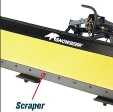 "SNOWBEAR Snow plow 82"" Scraper Blade Kit  20031 324-065"