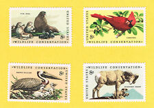 1464 1467 Wildlife Conservtion 1972 MNH WAG      All 4 Singles   4x8c
