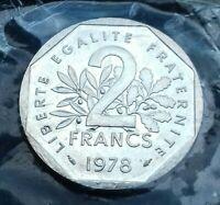 2 Francs Semeuse 1978 ESSAI .F. 272/2    6000 exemplaires RARE