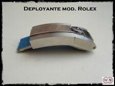 Fibbia Deployante mod. Rolex in acciaio inox