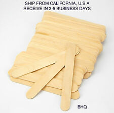 100 PCS HAIR REMOVAL DEIPILATORY WAX WOODEN SPATULAS