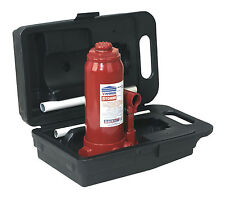Sealey Bottle Jack 5 Tonne with Carry-Case SJ5BMC Garage Workshop Equipment Tool