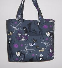 Handmade Halloween Nightmare Before Christmas Jack in The Boxes Tote Purse Bag