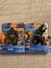 Godzilla vs Kong 6? Godzilla and Kong Action Figure Set Playmates Toys New