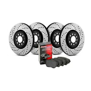 Drilled /& Slotted StopTech 978.42033R Sport Axle Pack Rear