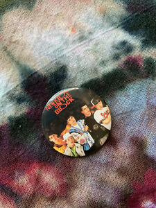 Vintage New Kids On The Block Button Pin 1989