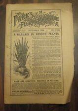 Park's Floral Magazine September 1906