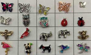 Authentic Origami Owl New Animals Insects Butterfly Charms FREE SHIPPING