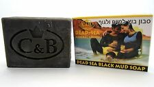 Dead Sea Mud Soap 125gr/4.4oz Natural Beauty Face Body Scrub Mother Authentic