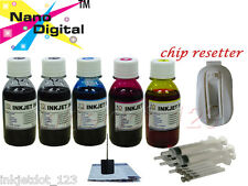 USB chip resetter + 5x4oz refill ink for Canon PGI-225 CLI-226 PIXMA MG5320