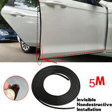 New 5M Black Moulding Trim Car Van Door Edge Guard Strip Molding Strip Protector