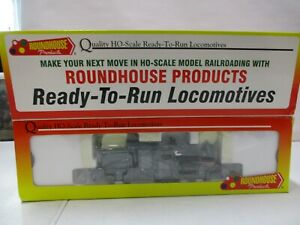 Roundhouse Undecorated Std. Gauge 2-Truck Shay HO Scale
