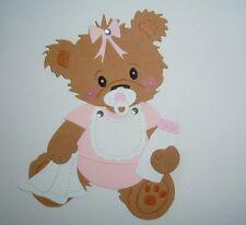 Stanzteile Scrapbooking  Kartenaufleger  Sticker Baby Geburt   Nr.a4445
