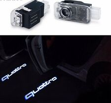 Led Door Lights For AUDI QUATTRO Welcome Courtesy Laser Projector Logo Emblem HD