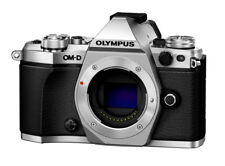 Olympus Om-d E-m5 Mark II Mirrorless Digital Camera Body Silver Bonus 45mm 1.8
