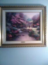 "Thomas Kinkade ""Pools of Serenity""  canvas S/N 20X24, LE,  Framed beautifully"
