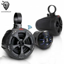 Pyle PLUTV46BTA 4'' Waterproof ATV, Marine, Speakers w Bluetooth Receiver, 800W