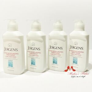 1 - 4 Packs Jergens Extra Moisturizing Hand Wash Cherry-Almond Hand Soap 7.5 oz