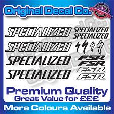 Premium Quality Specialized FSR Bike Decals Stickers mountain bike frame mtb