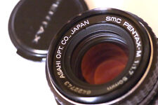 PENTAX M SERIES SMC 50MM F/1.7 LENS