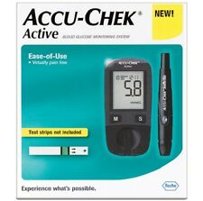 Accu-Chek Active Glucose Meter Glucometer Monitoring New Kit + 60 Test-Strips