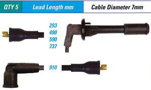 Spark Plug Leads FOR Peugeot 504 D_, F_ A_, M_