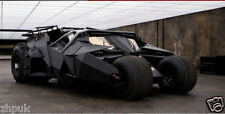 DC COMICS THE DARK KNIGHT BATMAN BATMOBILE TUMBLER BLACK CAR VEHECLE FIGURE TOYS