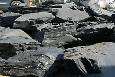 Schiefer-Natursteine, Bruch-Felsen, Mauer, Findlinge, Gartendekoration, 1 Tonne