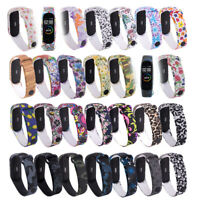 Sports Camouflage Bracelet Strap For Xiaomi Mi Band 4 3 Silicone Watch Band
