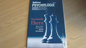SPEKTRUM PSYCHOLOGIE 5/2021 - NARZISTISCHE ELTRN - TOP