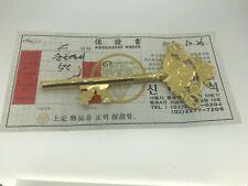 24k Korean Fine Gold 18.7 Grams Commemorative Key 118mm  x 52mm