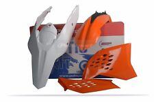 plastique Kit pour KTM SX/SXF 07 - 10 / sauf 08 - 11 / XC 08 - 10 - Orange 90431