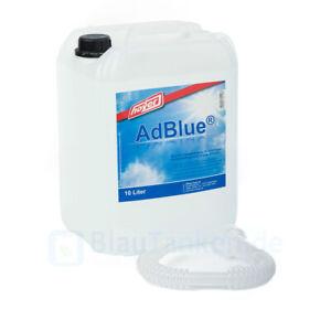 (1,28€/1L) 10 l Kanister AdBlue mit Hoyer Ausgießer - Hochreine Harnstofflösung