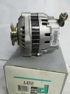 Dixie A-8315 Alternator 65 Amp Ford-Mazda w/ 1.6L Eng 1990-91