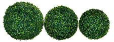 Boj bala verde-diverse tamaños de libro bala decorativas boj bala artificialmente