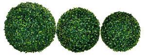 Buchsbaumkugel grün - diverse Größen - Buchskugel Deko Buchsbaum Kugel künstlich
