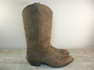 Women's Ariat #10010970 Magnolia Brown Distressed Leather Cowboy Boots Size 8 US