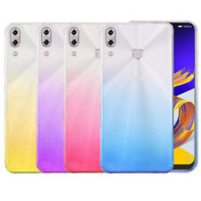 For ASUS Zenfone 5 5Lite ZE620KL ZC600KLGradient Clear Ultra Thin TPU Case cover