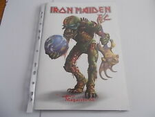 IRON MAIDEN FAN CLUB MAGAZINE A4 SIZE # 88