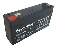 HB-06103 6V 1.2AH Plumbic Acid Storage Sealed Rechargeable by PowerStar