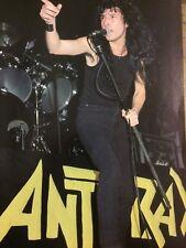 Joey Belladonna, Anthrax, Full Page Vintage Pinup